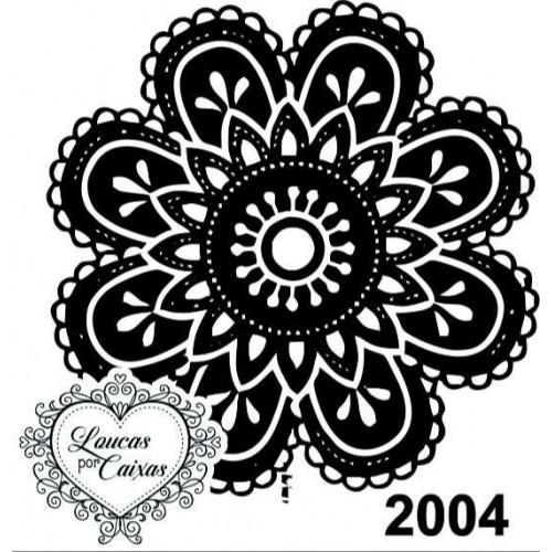 Carimbo Ref 2004 Tamanho 4 X 4 Cm