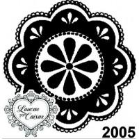 Carimbo Ref 2005 Tamanho 4 X 4 Cm..