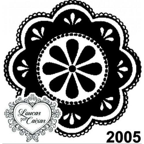 Carimbo Ref 2005 Tamanho 4 X 4 Cm
