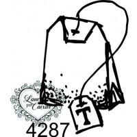 Carimbo Saquinho Chá P Ref 4287 - 2.3 X ..
