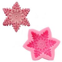 Molde de silicone profundo Snowflake G..