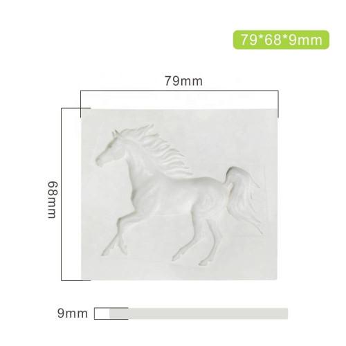 Molde de silicone Cavalo