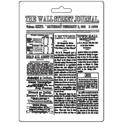 Molde de Plástico Jornal Wall Street