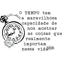 Carimbo O Tempo Tem a Maravilhosa Capaci..