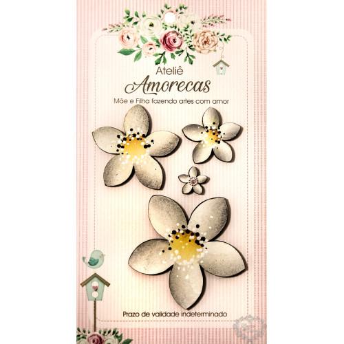 Flores Amorecas - Lóren - Grafite