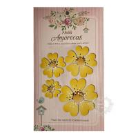 Flores Amorecas - Amora - Amarelo..