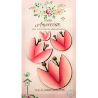 Flores Amorecas - Flávia - Rosa..