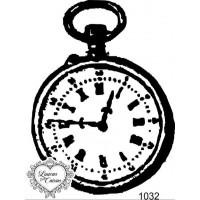 Carimbo Relógio Antigo Ref 1032 - 5.7 X ..