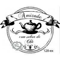 Carimbo Amizade Com Sabor De Chá Ref. 12..