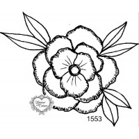 Carimbo Flor G Ref 1553 - Tam 10 X 8.5 C..