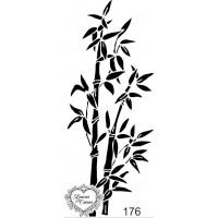 Carimbo Folhagens E Arbustos Ref 176 - 4..