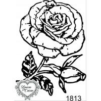 Carimbo Rosa Ref 1813..
