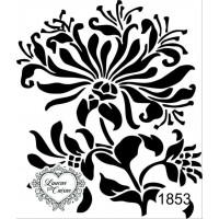 Carimbo Estampa Flor Ref 1853 - Tam 6.8 ..