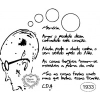 Carimbo Drumond - Ref 1933 - 9.6 X 8 Cm..