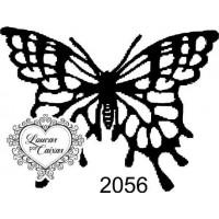 Carimbo Borboleta P Ref 2056 Tam 5 X 3.8..
