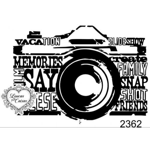 Carimbo Máquina Fotográfica Ref 2362