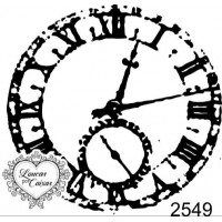 Carimbo Relógio Ref 2549 - Tam 5.6 X 5.5..