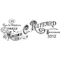 Carimbo Maison C. Riffard - Ref 3312 - 8..