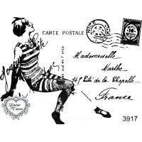 Carimbo Cartão Postal Ref 3917..