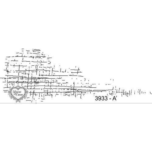 Carimbo Textura Linho Ref 3933 Tamanho 13 X 4,5 Cm - LADO A