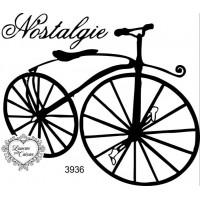 Carimbo Bicicleta Vintage Ref 3936 - 8 X..