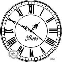 Carimbo Relógio G Ref 3952 - 10 X 10 Cm..