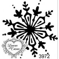 Carimbo  Floco Neve Ref 3972 - 4 X 4.2 C..