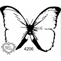 Carimbo Borboleta M Ref 4206  Tam 7 X 5...