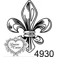 Carimbo Flor De Liz P Ref 4930 - Tam 2.5..