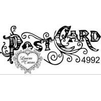 Carimbo Post Card Ref 4992 - Tamanho 6 X..
