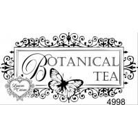 Carimbo Botanical Tea Ref 4998 Tam 8.1 X..