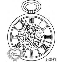Carimbo Relógio Steampunk Ref 5091 - Tam..