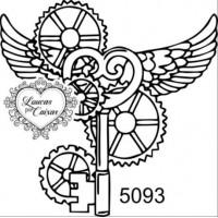 Carimbo Chave Steampunk Ref 5093 - Tam 5..