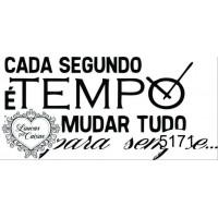 Carimbo Texto Tempo Ref 5171..