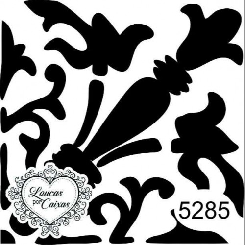 Carimbo Estampa Azulejo Ref 5285