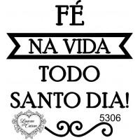 Carimbo Texto Fé Ref 5306..