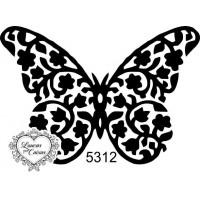 Carimbo borboleta m ref 5312..