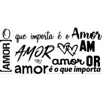 Carimbo Texto Amor Ref 5353 - 10 X 4.6 C..