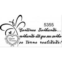 Carimbo Texto Ref 5355 - 7 X 3.7 Cm..
