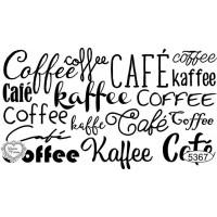 Carimbo Texto Café Ref 5367 - Tamanho 7,..