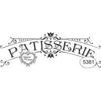 Carimbo Patisserie Ref 5381 - 9.7 X 3.7 ..