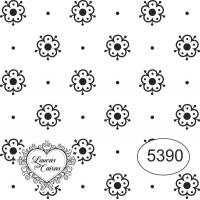 Carimbo Ref 5390 Estampa Florzinhas Tam ..