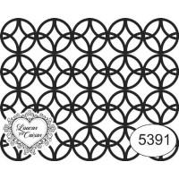 Carimbo Ref 5391 Estampa Círculos Tam 6 ..