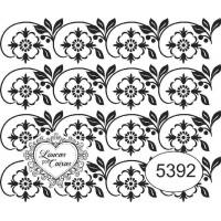 Carimbo Ref 5392 Estampa Floral Tam 6 X ..