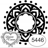 Carimbo Mandala 5446 4X4Cm..