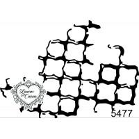 Carimbo Textura G -  7 X 5 Ref. 5477..