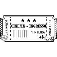 Carimbo Ingresso Cinema Ref. 5533 - 7 X ..