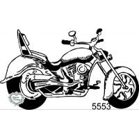 Carimbo Moto Vintage - 8 X 4,7 Cm - Ref...