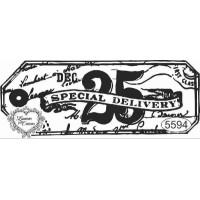 Carimbo 25 Dec. Special Delivery - 9,5 X..