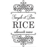 Carimbo Simple Et Bon Rice Ref. 5598 - 9..